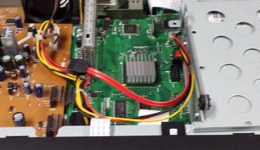 DVDレコーダーのデータ救出